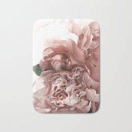 Blush Pink Floral Bath Mat