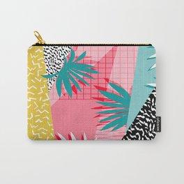 Bingo - throwback retro memphis neon tropical socal desert festival trendy hipster pattern pop art Carry-All Pouch