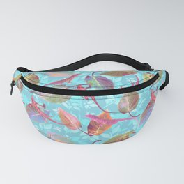 Lizards and More Leaves Fanny Pack