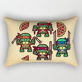 Teenage Mutant Ninja Turtles Pizza Party Rectangular Pillow