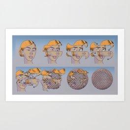 Mutation as Newness Art Print