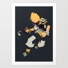 Kingdom Hearts - Ventus Art Print