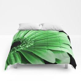 Gerbera Green Comforters