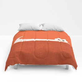 Mark's Superpower: cat Superstretch Comforters
