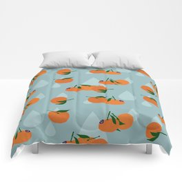 Clementines and drops Comforters