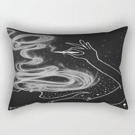 Midnight Toker (#3), Smoking Lady Series Rectangular Pillow