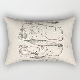 Twister Skull Rectangular Pillow