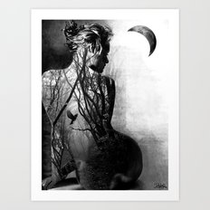 within freedom Art Print