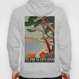Vintage poster - Cote D'Azur, France Hoody