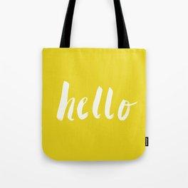 Hello x Sunshine Script Tote Bag