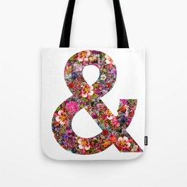 & ampersand print Tote Bag