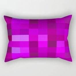 Purple Mosaic Rectangular Pillow