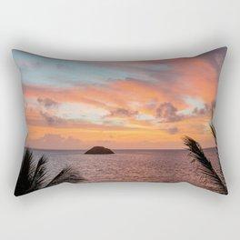 ISLAND SUNRISE Rectangular Pillow