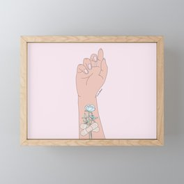 Fix You Framed Mini Art Print