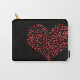 Loving Felt Red Carry-All Pouch