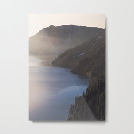 First Light at the Lake - Nature Photography Metal Print
