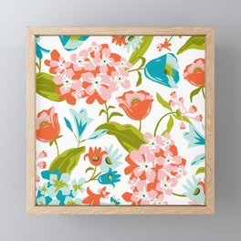Amilee White Framed Mini Art Print