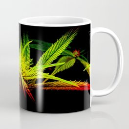 Rasta Plant Glows (The Healing of the Nations) Coffee Mug