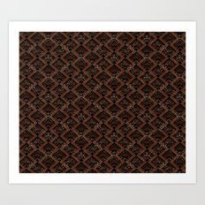 Tribal Pattern 1-1 Art Print