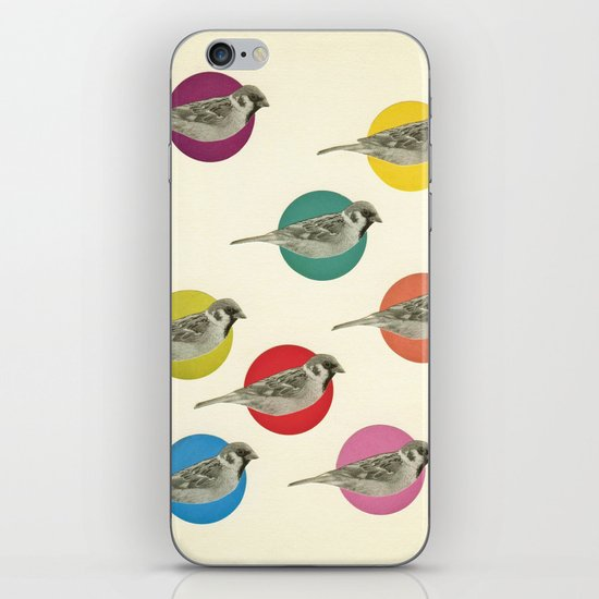 Gathering Sparrows iPhone & iPod Skin
