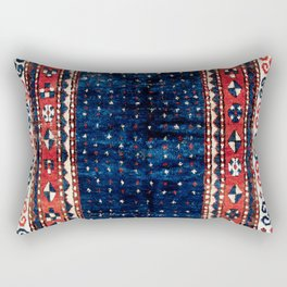 Kazak Southwest Caucasus Rug Rectangular Pillow