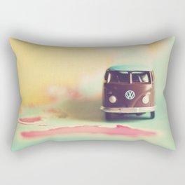 Vintage Camper Down Under Rectangular Pillow