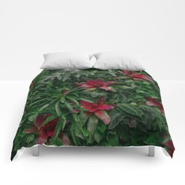 A Wall of Plants Comforters