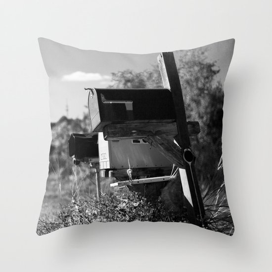 Country Mail #2 Throw Pillow
