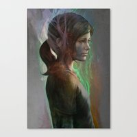 artgerm Canvas Prints featuring The last hope by Artgerm™