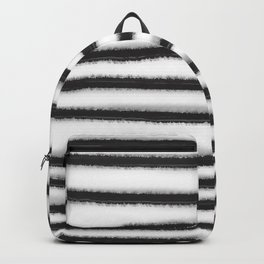 Fuzzy Stripes Backpack