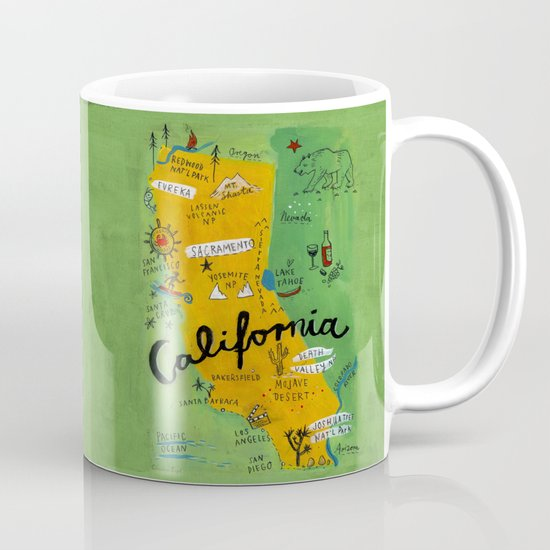 Postcard from California Mug