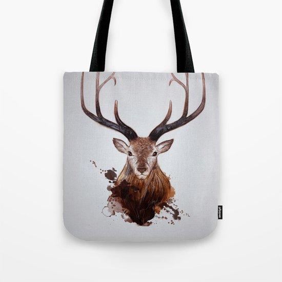Cervus Canadensis Tote Bag