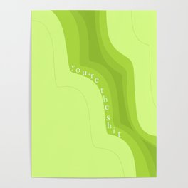 Neon Affirmations Poster