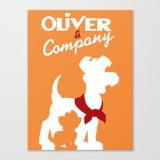 Oilver and company Canvas Print