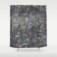 egyptian Shower Curtains featuring EGYPTIAN by sametsevincer