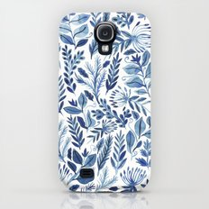 indigo scatter Galaxy S4 Slim Case