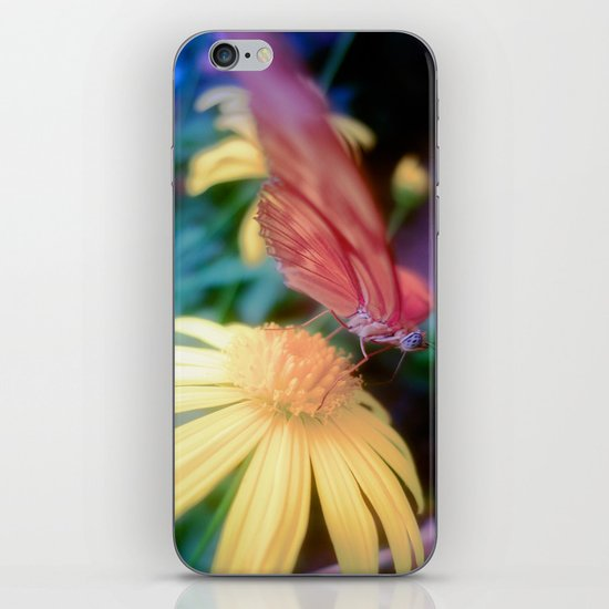 hungry butterfly iPhone & iPod Skin