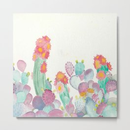 Pretty And Prickly Metal Print