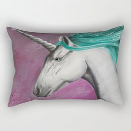 Catching Unicorns Rectangular Pillow