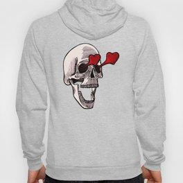 Skull Falling in Love Hoody