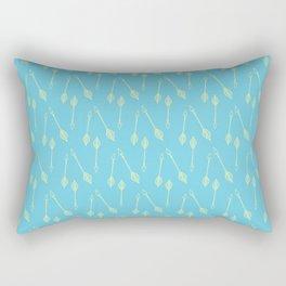 Yellow Arrows BB Rectangular Pillow