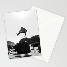 Beach Jump Stationery Cards