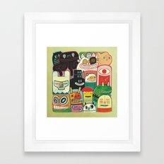 Instant drôlatique 2 Framed Art Print