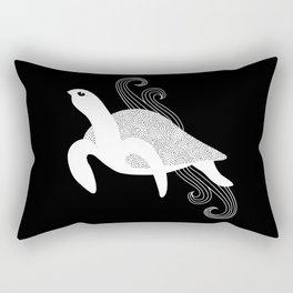Sea Turtle Spirit Animal Rectangular Pillow