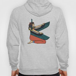 Egyptian goddess maat with wings Hoody