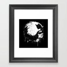 Dark Moon Framed Art Print