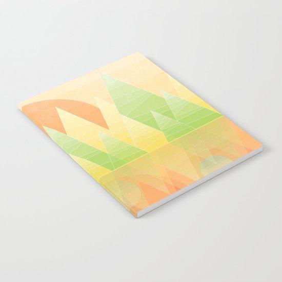 Geometric Lake Mountain II - Summer Notebook