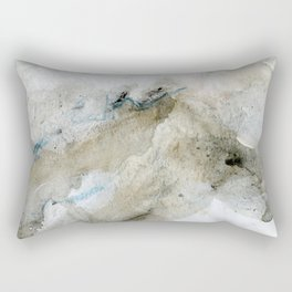 Sandy blue Rectangular Pillow