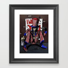 Uncle Sammy Framed Art Print