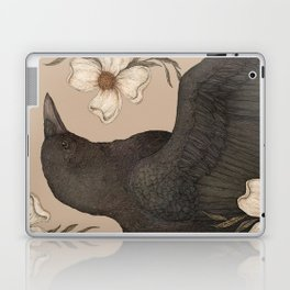The Crow and Dogwoods Laptop & iPad Skin